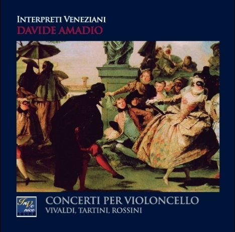 Davide Amadio/Interpreti Veneziani - Conciertos para violonchelo